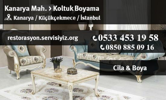 Kucukcekmece Kanarya Koltuk Boyama Istanbul Restorasyon