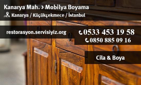 Kucukcekmece Kanarya Mobilya Boyama Istanbul Restorasyon