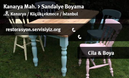 Kucukcekmece Kanarya Sandalye Boyama Istanbul Restorasyon