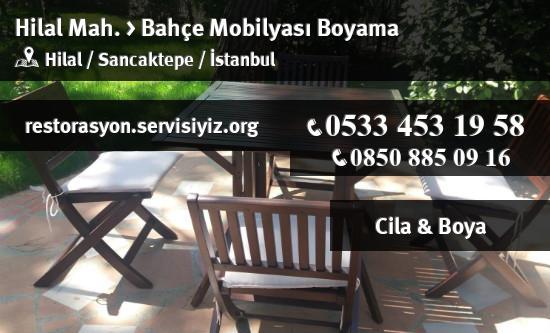 Sancaktepe Hilal Bahce Mobilyasi Boyama Istanbul Restorasyon
